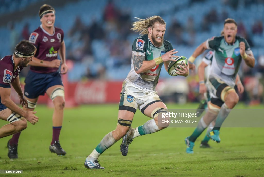 RUGBYU-SUPER14-BULLS-QUEENSLAND : News Photo