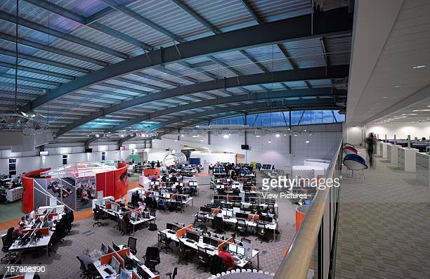 Vodafone Call Centre Stoke Overall Interior View Stoke On Trent United Kingdom Architect2009