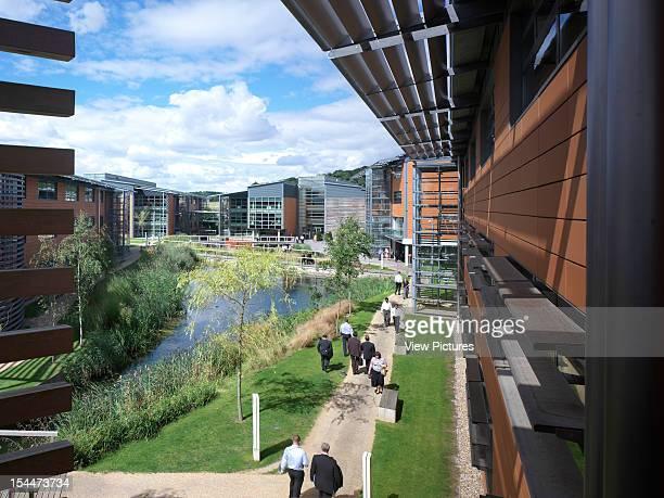 Vodafone Headquarters, Newbury, United Kingdom, Architect Fletcher Priest, Vodafone Headquarters Grand View