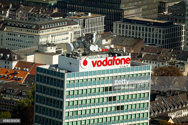 ボーダフォンはデュッセルドルフ - vodafone ストックフォトと画像