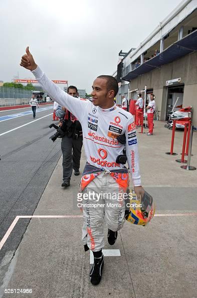 Vodafone McLaren Mercedes Formula One team F1 race car ...