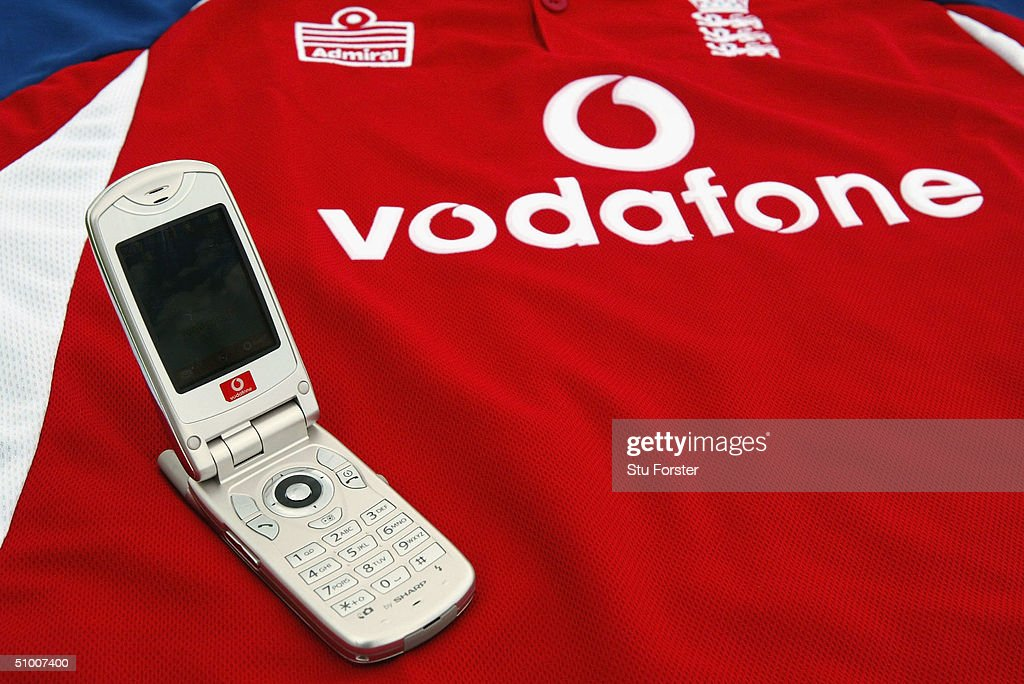 Vodafone products pictured at The Riverside on June 28, 2004