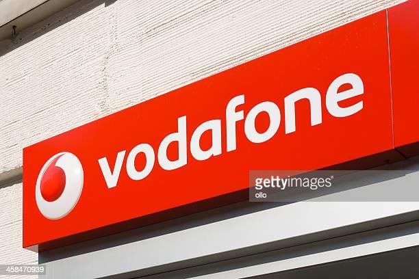 ボーダフォンサイン - vodafone ストックフォトと画像
