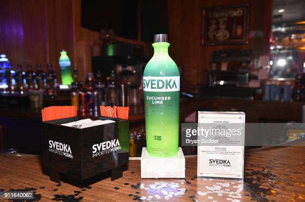 Vodka is served during the 60th Annual Grammy Awards after party hosted by Benny Blanco and Diplo with SVEDKA Vodka and Interscope Records on January...