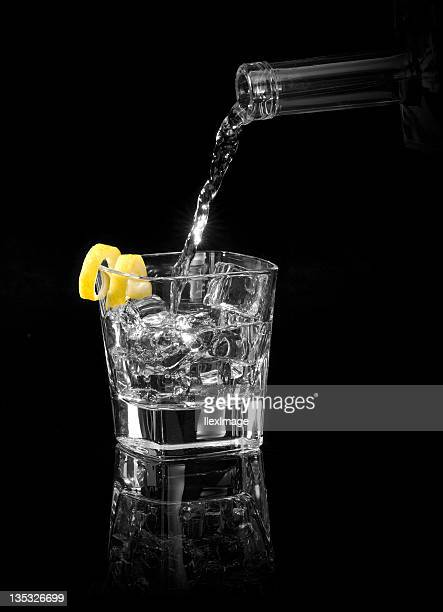 vodka with a twist - vodka stock pictures, royalty-free photos & images