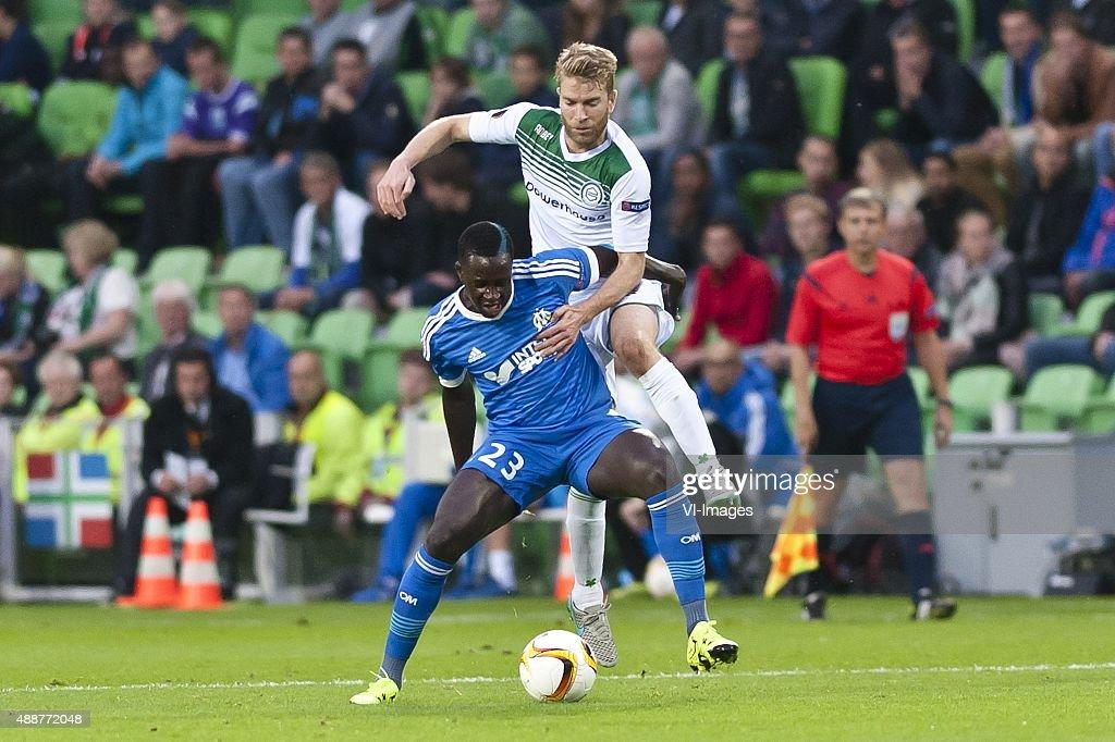"UEFA Europa League - ""FC Groningen v Olympique Marseille"" : News Photo"