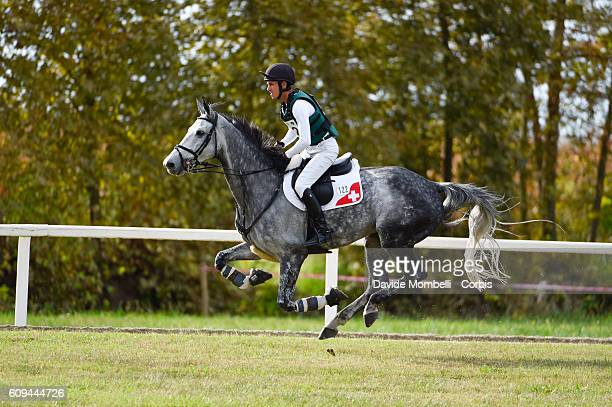 Vogg Felix CHE riding Cleveland III during the CCI3* Eventing on September 17 2016 in Vidigulfo Italy