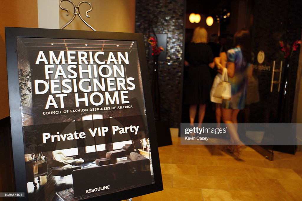 Vogue American Fashion Designers At Home VIP Party Photos and Images ...