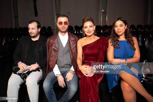 Vogue Arabia Editor In Chief Manuel Arnaut media personality Bilal Al Arabi Founder of Jordan Fashion Week Shirene Rifia and Founder Editor in Chief...