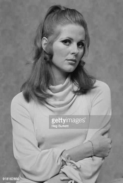 Vogue cover girl and fashion model Paulene Stone UK 29th March 1968