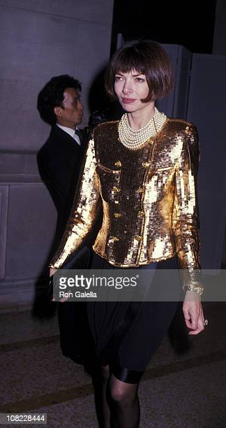 Vogue Editor Anna Wintour attends Metropolitan Museum of Art Costume Institute Gala The Age of Napoleon Costume From Revolution To Empire on December...