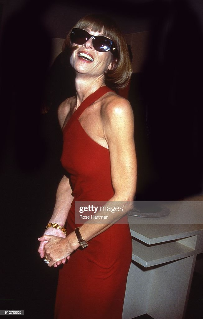Vogue editor in chief Anna Wintour at Barney's, New York City, 1999.