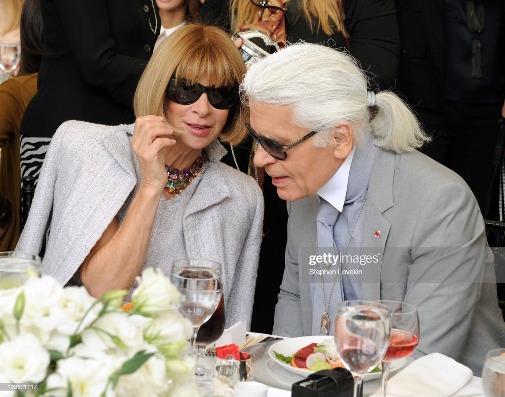 The FIT Couture Council's Annual Luncheon Honoring Karl Lagerfeld : News Photo