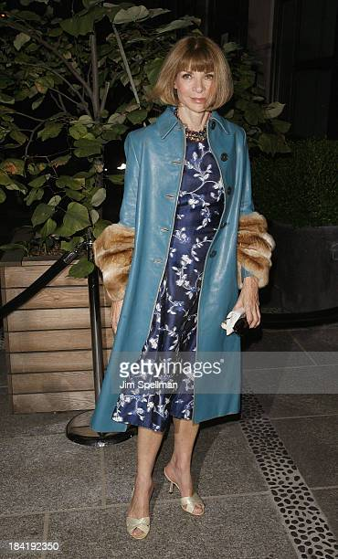 """Vogue Editor-in-Chief Anna Wintour attends The Cinema Society with Vanity Fair & Richard Mille screening of DreamWorks Pictures' """"The Fifth Estate""""..."""