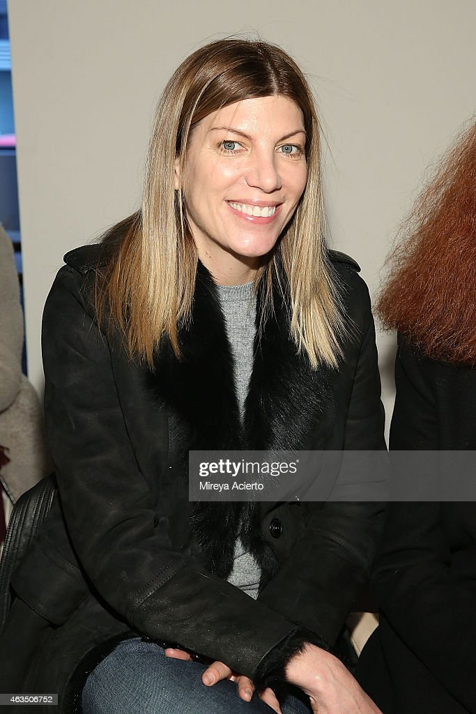Vogue fashion market director, Virgina Smith attends Public School runway show during MADE Fashion Week Fall 2015 at Studio 330 on February 15, 2015 in New York City.