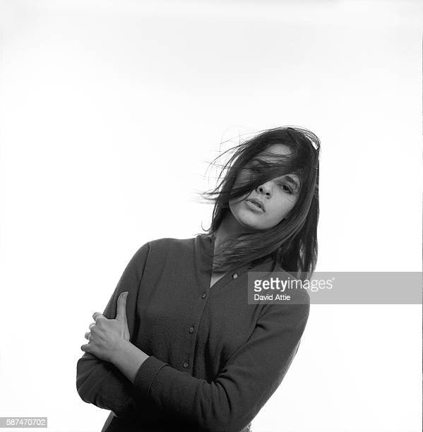 Vogue fashion model and future actress Ali MacGraw poses for a portrait in New York City, New York.