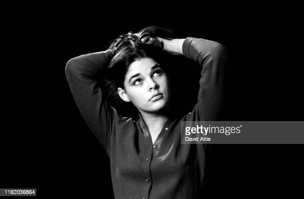 Vogue fashion model and future actress Ali MacGraw, then named Alice Hoen, poses for a portrait in New York City, New York.