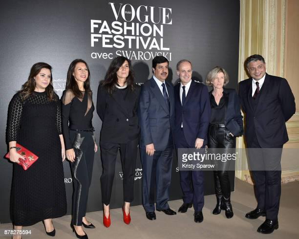 Vogue feature director Theodora Aspart Vogue advertising director Delphine Royant Vogue Editor in chief Emmanuelle Alt Abdulaziz Mohammed Al Rabban...