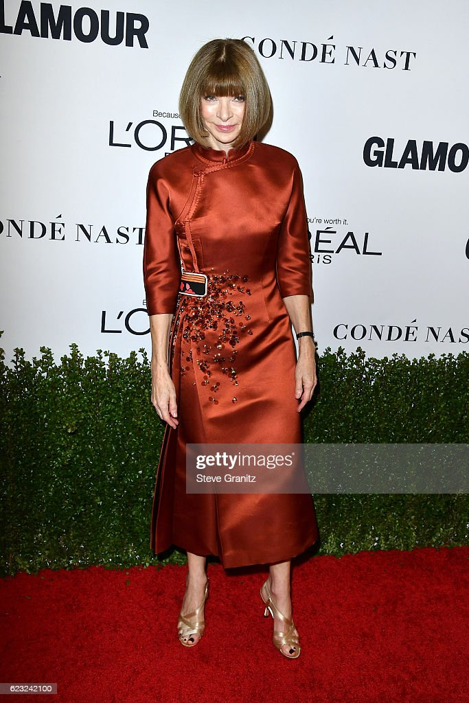 Vogue magazine Editor-in-Chief Anna Wintour attends Glamour Women Of ... 720e4c6c8b