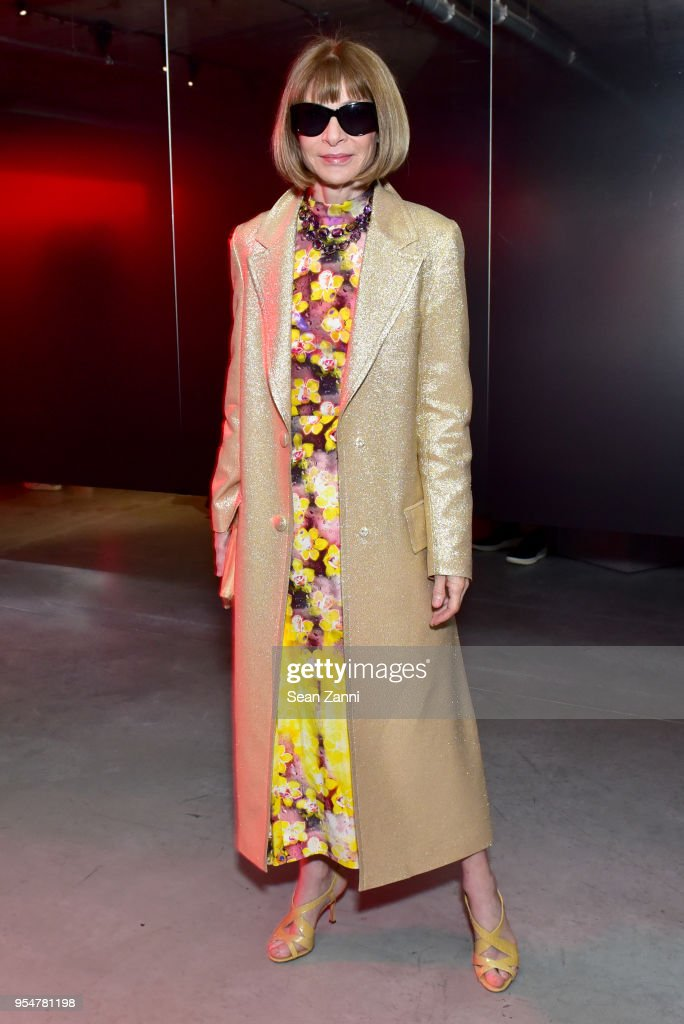 Vogue Magazine Editor-In-Chief Anna Wintour attends the Prada Resort 2019 fashion show on May 4, 2018 in New York City.