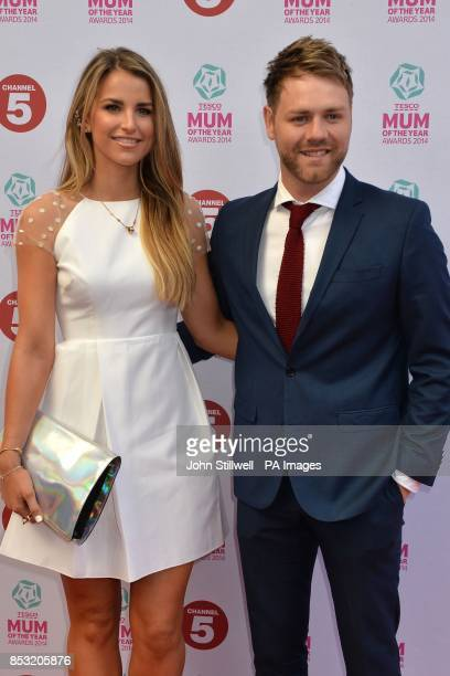 Vogue Williams and Brian McFadden arriving at the Tesco Mum of the Year Awards celebrating Britain's most inspirational mothers at The Savoy Hotel...