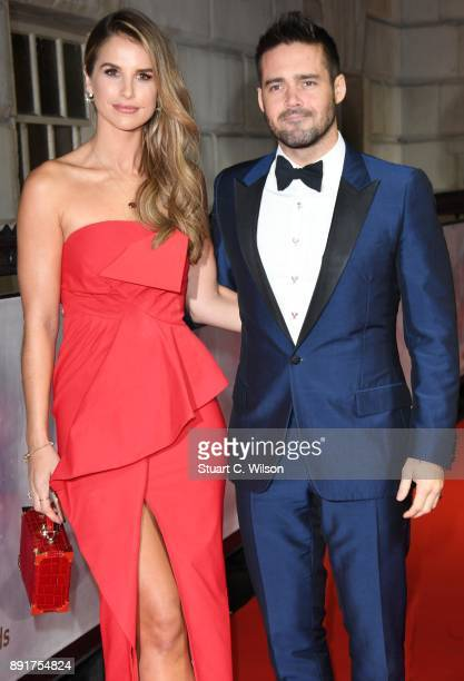 Vogue Williams and Spencer Matthews attend The Sun Military Awards at Banqueting House on December 13 2017 in London England