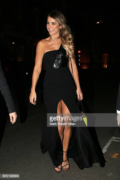 Vogue Williams at Annabel's club for the Dogs Trust event on November 1 2016 in London England