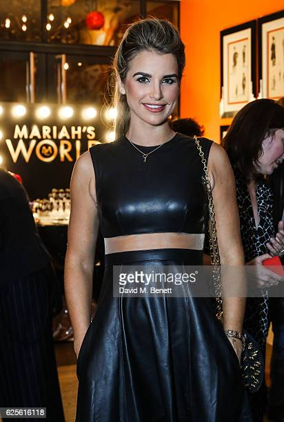 Vogue Williams at E's Mariah's World launch at Ham Yard Hotel on November 24 2016 in London England