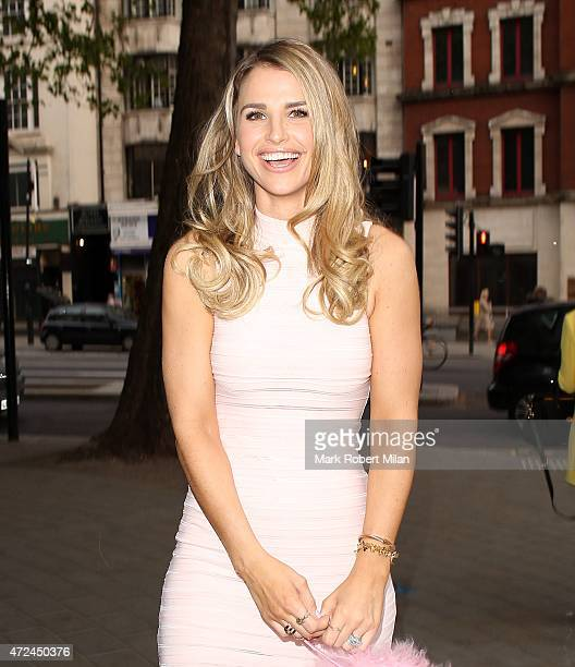 Vogue Williams at the ME hotel for the Michelle Keegan Lipsy clothing launch party on May 7 2015 in London England