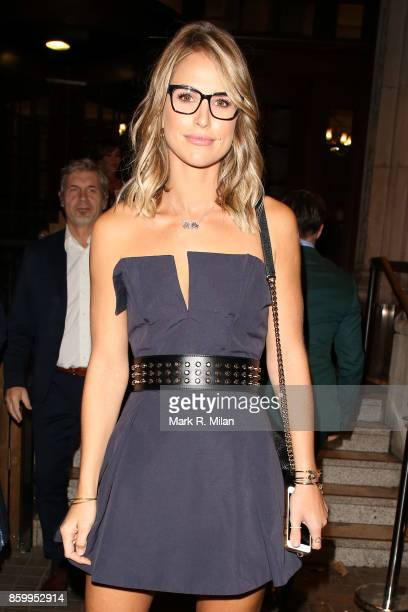Vogue Williams attending the Specsavers 'Spectacle Wearer of the Year' awards on October 10 2017 in London England