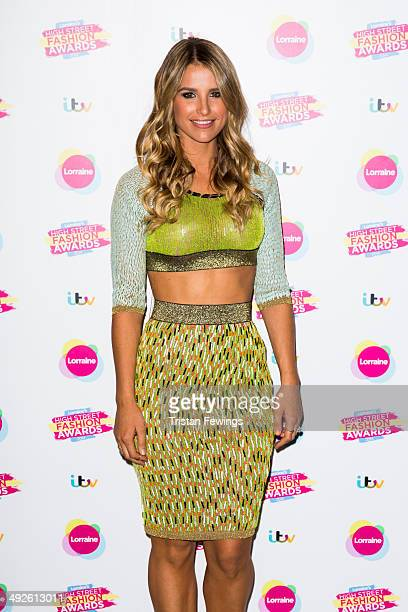 Vogue Williams attends Lorraine's High Street Fashion Awards on May 21 2014 in London England
