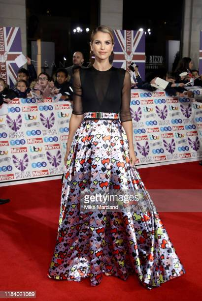 Vogue Williams attends Pride Of Britain Awards 2019 at The Grosvenor House Hotel on October 28 2019 in London England