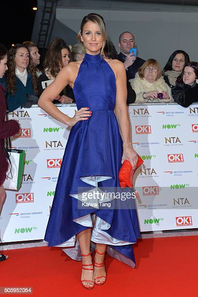 Vogue Williams attends the 21st National Television Awards at The O2 Arena on January 20 2016 in London England