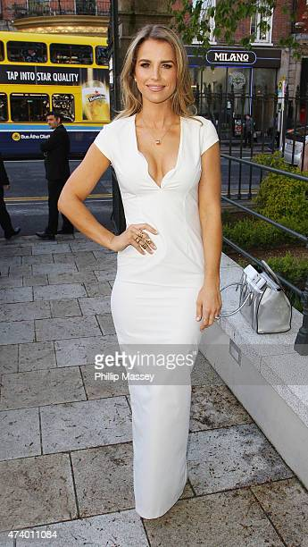 Vogue Williams attends the Pride of Ireland Awards at Mansion House on May 19 2015 in Dublin Ireland