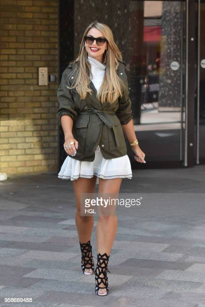 Vogue Williams seen at the ITV Studios on May 15 2018 in London England