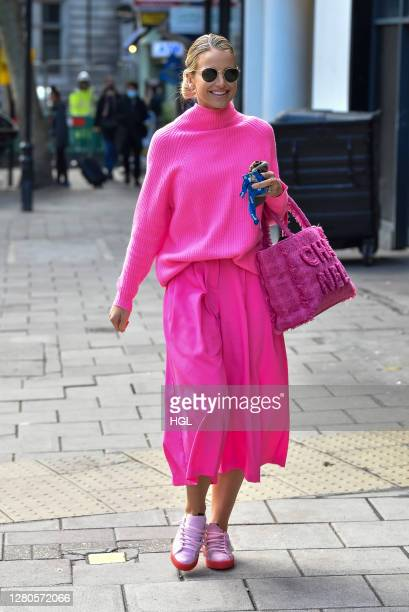 Vogue Williams sighting on October 16, 2020 in London, England.