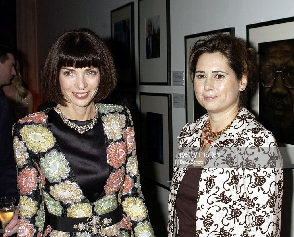 Vogue's Editors Anna Wintour And Alexandra Shulman, Fashion Photographer Mario Testino Attracted All The Most Glamorous Women In London To His Exhibition At The National Portrait Gallery.