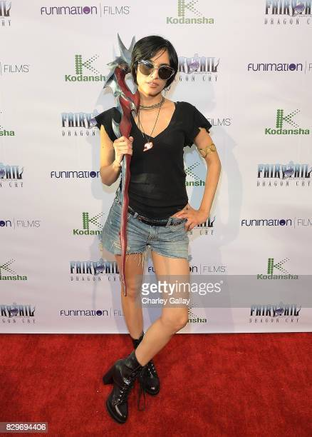Voice actor Cristina Vee attend the Fairy Tail Dragon Cry Premiere at The Montalban on August 10 2017 in Hollywood California
