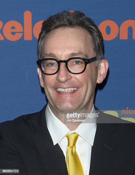 Voice actor Tom Kenny attends the 'Spongebob Squarepants' Broadway opening night after party at The Ziegfeld Ballroom on December 4 2017 in New York...