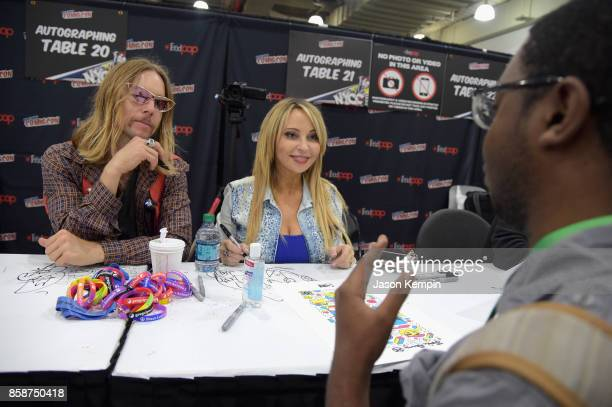 greg cipes tara strong stock photos and pictures getty images