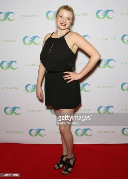 Voice Actress Bryn Apprill attends the Cocktails for Change fundraiser hosted by ClexaCon to benefit Cyndi Lauper's True Colors Fund at the Tropicana...