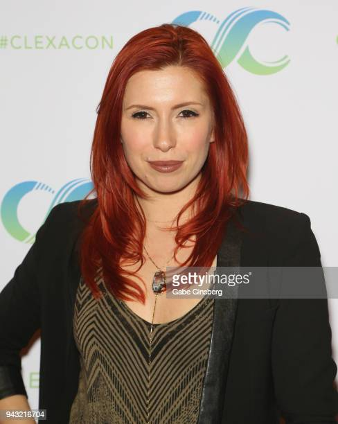 Voice Actress Elizabeth Maxwell attends the Cocktails for Change fundraiser hosted by ClexaCon to benefit Cyndi Lauper's True Colors Fund at the...
