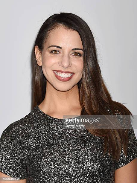 Voice actress Laura Bailey arrives at The Game Awards 2015 Arrivals at Microsoft Theater on December 3 2015 in Los Angeles California