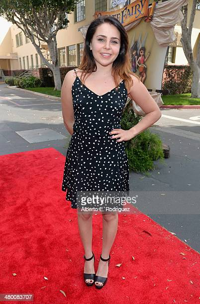"""Voice actress Mae Whitman attends Disney's """"The Pirate Fairy"""" World Premiere at Walt Disney Studios on March 22, 2014 in Burbank, California. On..."""