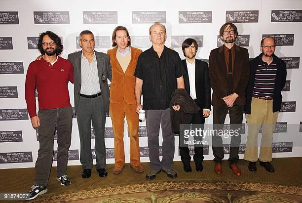 Voice artist Wally Wolodarsky actor George Clooney director Wes Anderson actor Bill Murray actor Jason Schwartzman musician Jarvis Cocker and voice...