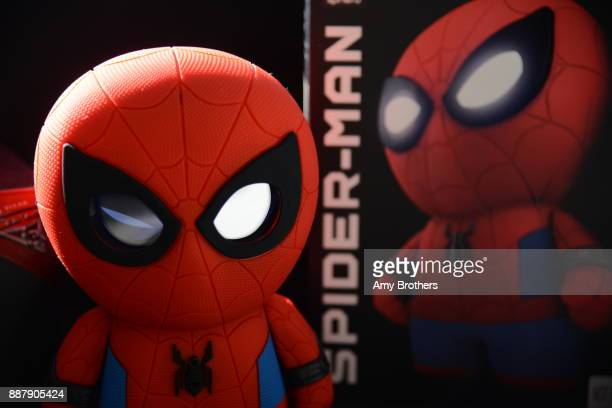 A voice interactive SpiderMan toy robot at the Sphero campus in Boulder Colorado on December 1 2017 Sphero specializes in connected robotic toys