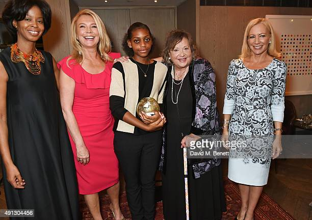 Voice of a Woman founder and CEO Maureen Bryan Amanda Redman Madeline Bafaku Sylvia Syms and Suzi Digby Lady Eatwell attend the Voice Of A Woman...