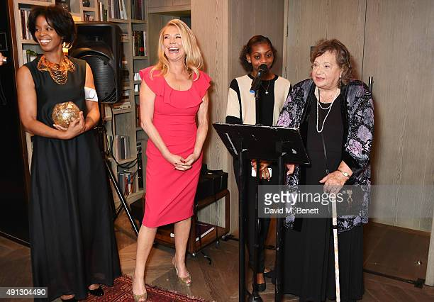 Voice of a Woman founder and CEO Maureen Bryan Amanda Redman Madeline Bafaku and Sylvia Syms attend the Voice Of A Woman Awards at the Belgraves...