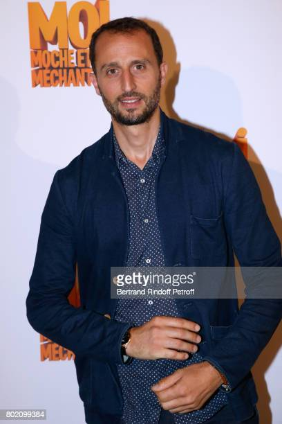 Voice of the movie actor Arie Elmaleh attends the Despicable Me Paris Premiere at Cinema Gaumont Marignan on June 27 2017 in Paris France