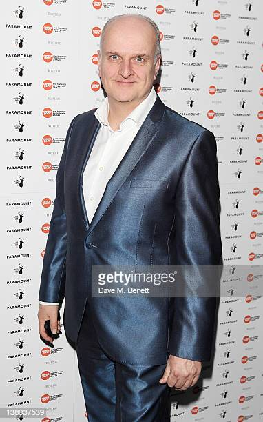 Voice of the X Factor Peter Dickson attends the Centrepoint Ultimate Pub Quiz 2012 in aid of homeless charity Centrepoint at Paramount Club on...